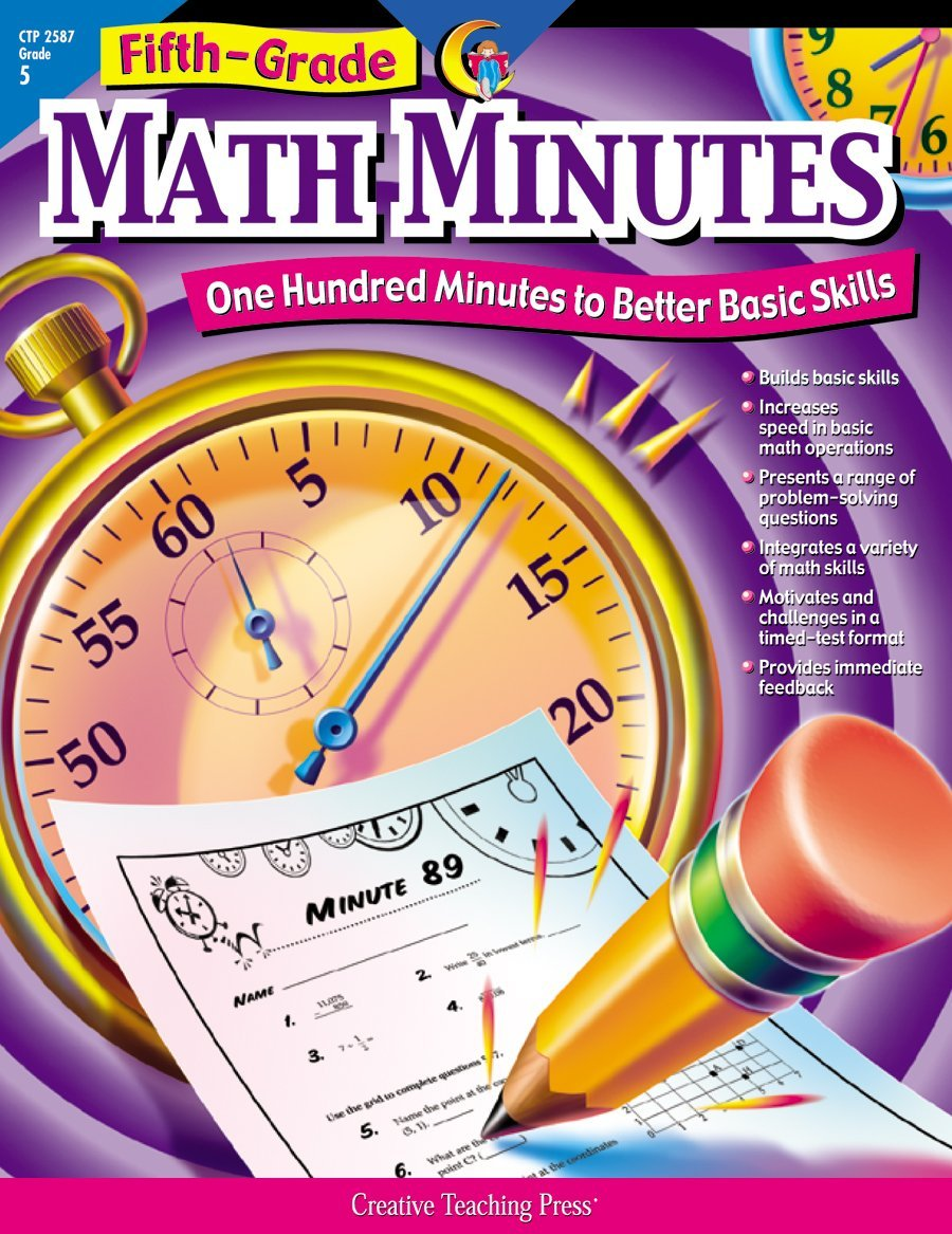 amazoncom math minutes th grade ctp    math minutes th grade ctp  paperback  teachers edition march