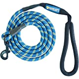 Phydeaux's Mountain Climbing Rope Dog Leash - 4 and 6 ft Long - Premium Quality - Perfect for Medium and Large Dogs