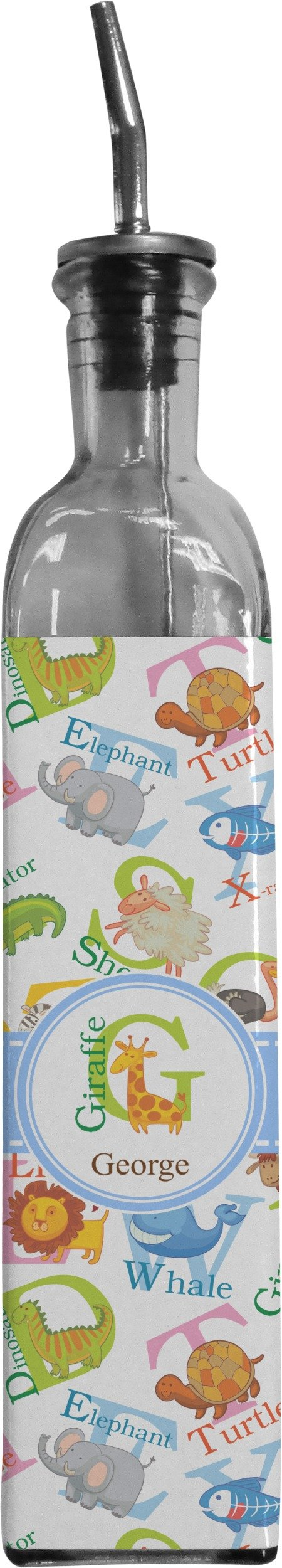 Animal Alphabet Oil Dispenser Bottle (Personalized)