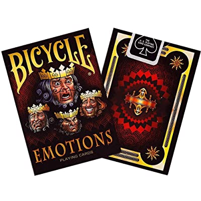 Bicycle Emotions Playing Cards 1 Deck: Toys & Games