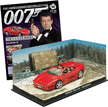 007 James Bond Car Collection 10 Ferrari F355 Goldeneye Amazon De Spielzeug