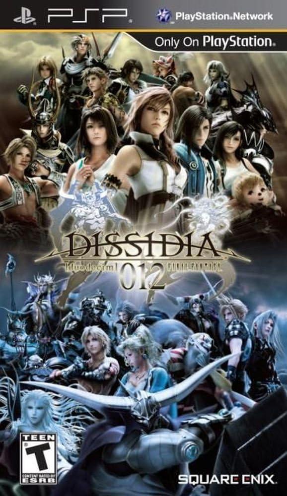 Square Enix Dissidia 012 Final Fantasy PlayStation Portable (PSP) vídeo - Juego (PlayStation Portable (PSP), RPG (juego de rol), T (Teen))