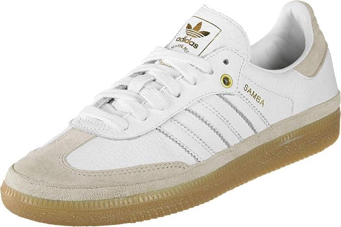 adidas Samba Og W Relay Damen Weiß mit Weißen Streifen