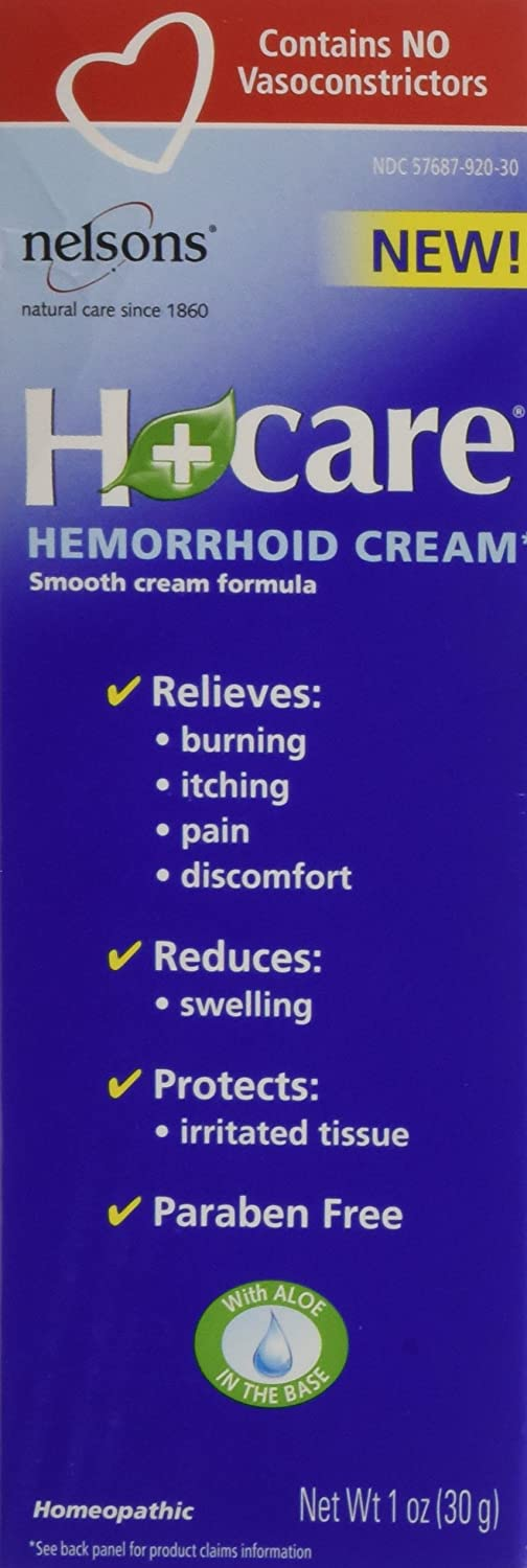Buy Nelsons Bach Hemorrhoid Cream 1 Oz Online At Low Prices In