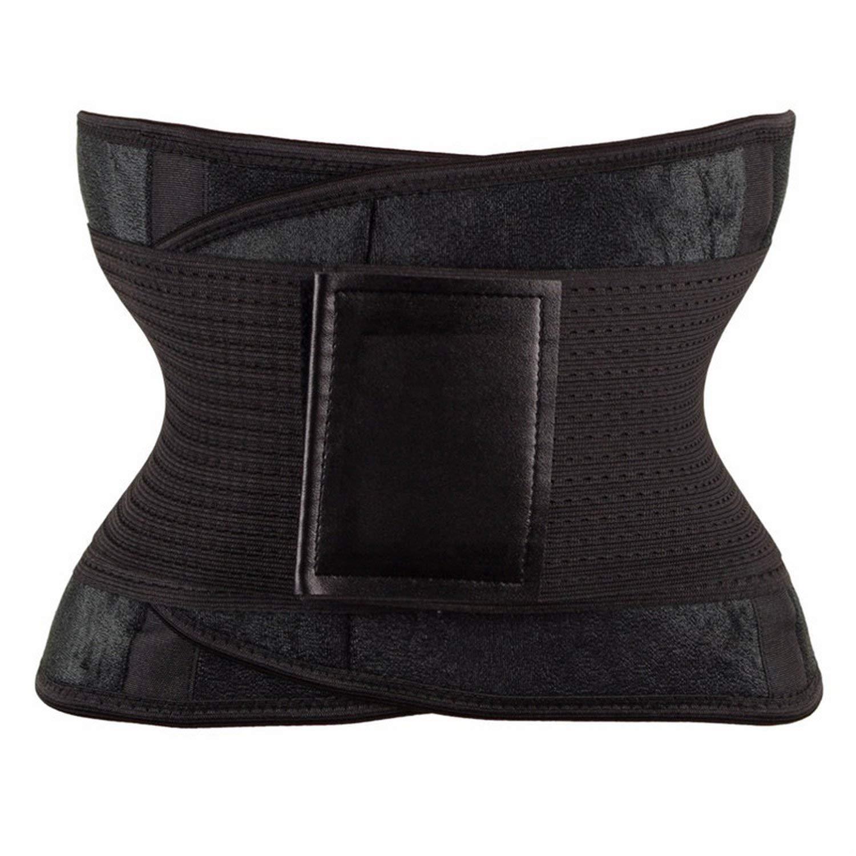 Waist Trainer Body Belt Women Postpartum Strap Workout Shapewear Tummy Trimmer,Purple,XXL