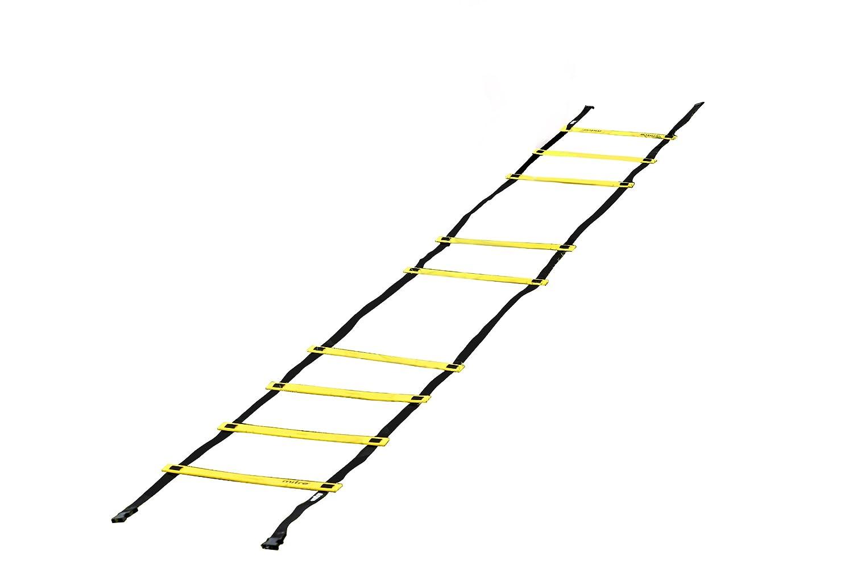 Mitre Color Amarillo Juego de Ejercicio y psicomotricidad Escalera de Agilidad