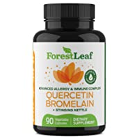 Advanced Sinus and Allergy Relief Supplement – Quercetin Bromelain with Stinging...