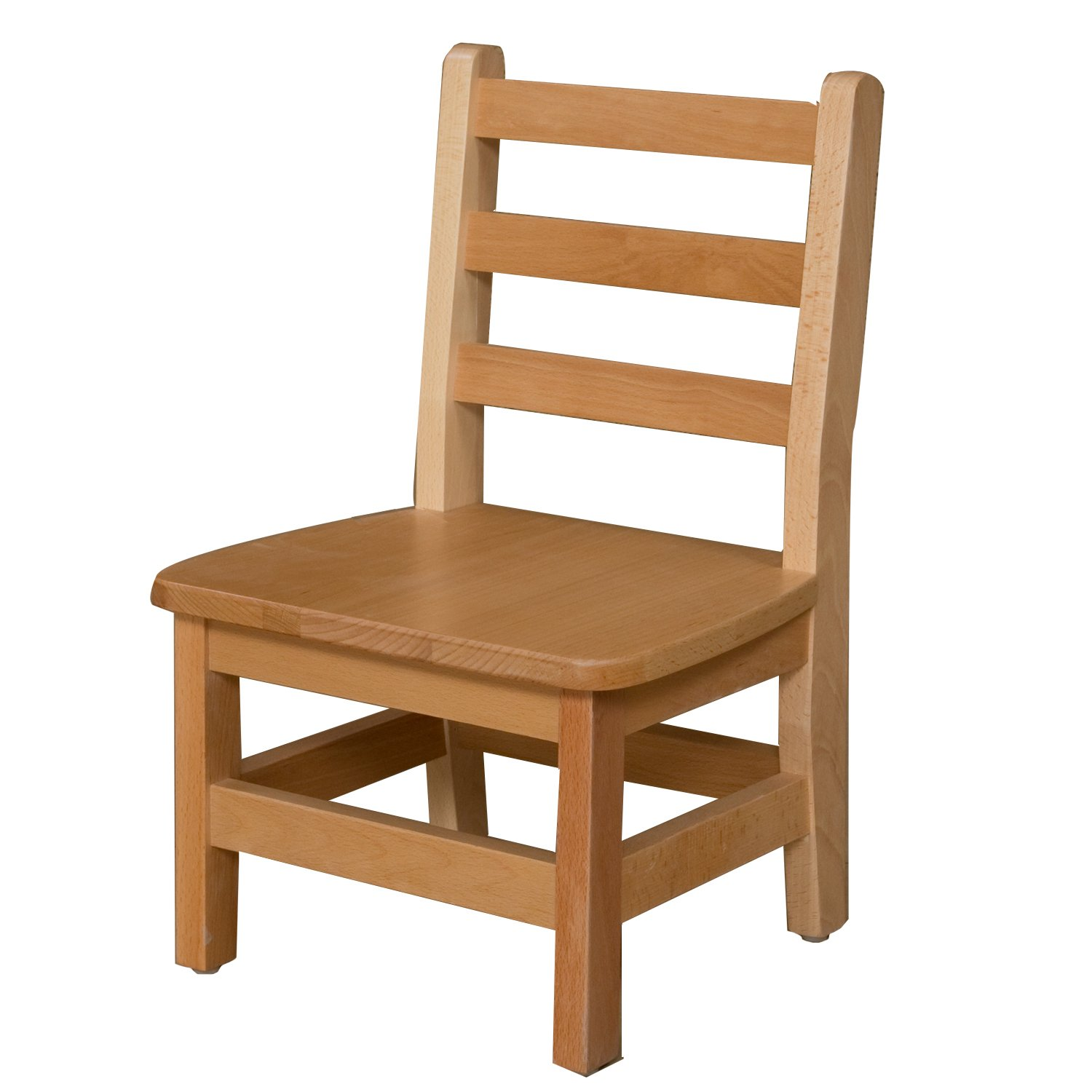 Wood Designs WD81001 Child's Chair, 10'' Height Seat, (1) Per Carton