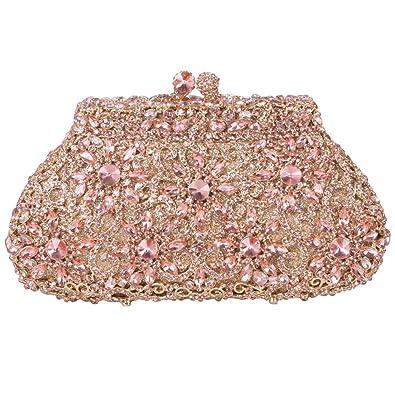 Fawziya SunFlower Purses For Women Luxury Rhinestone Crystal ...