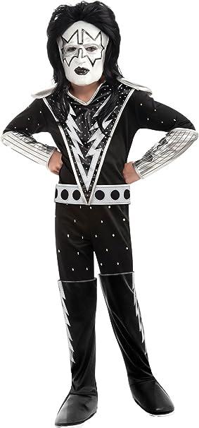 Disfraces 211450 Tama-o KISS-Spaceman Deluxe Costume Ni-o: Peque-o ...