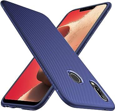 iBetter Huawei P Smart Plus Funda Fina de Silicona, para Huawei P ...