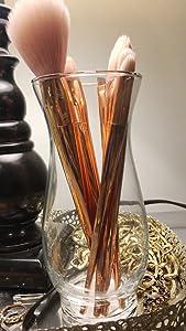 """Glass Hurricane Stem Vases, 6½"""", BOX OF 12"""