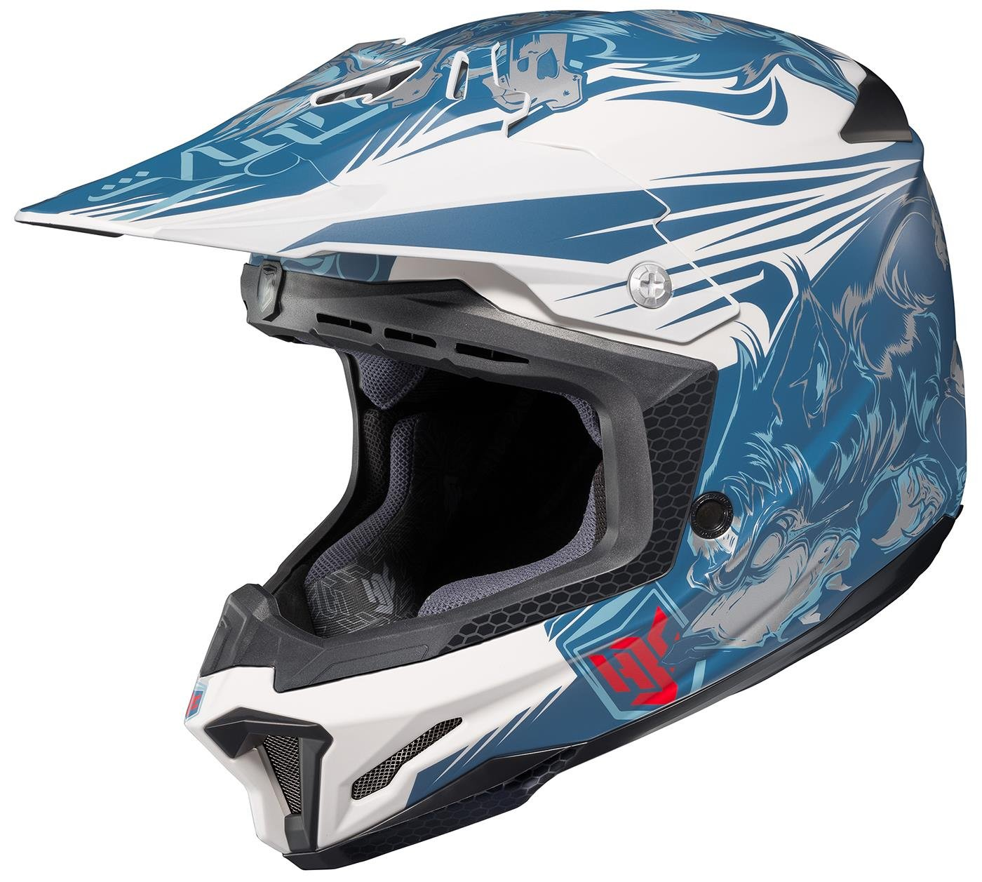 Choose Size // Color HJC CL-X7 El Lobo Helmet