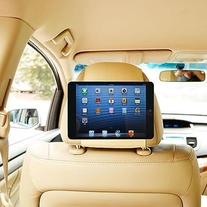 TFY Car Headrest Mount Holder For IPad Mini 2 Fast Attach