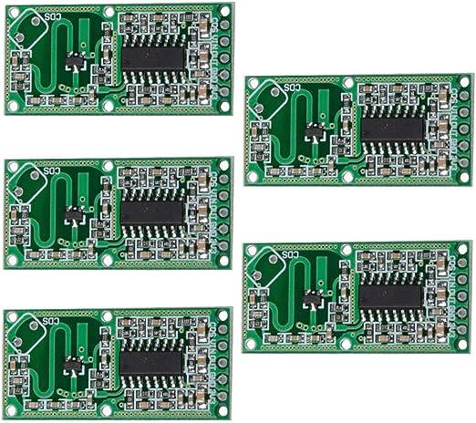 Mikrowellen Doppler Radar Bewegungsdetektor Sensor RCWL 0516 Modul Brett K9H5