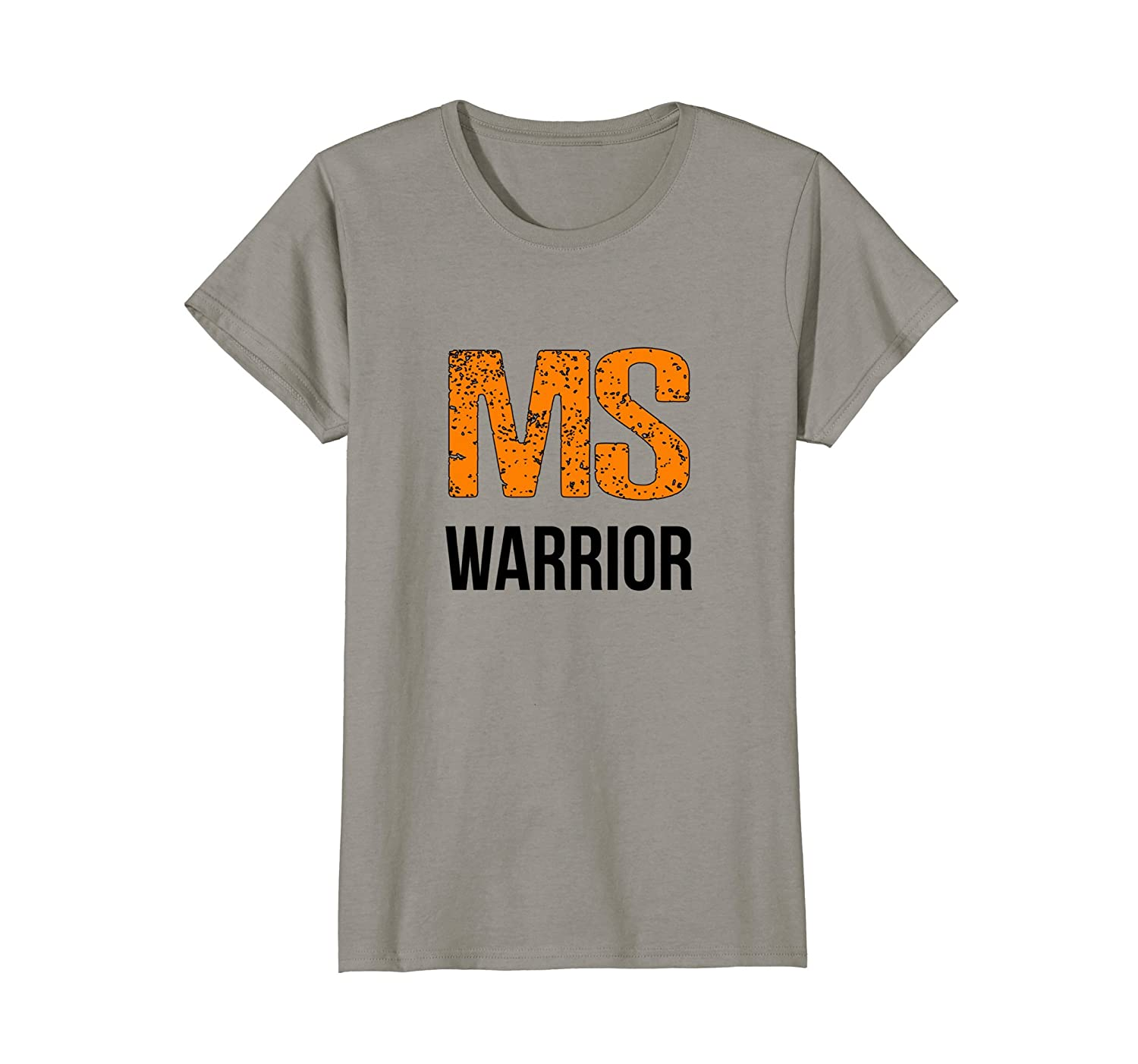 Amazon Ms Warrior Cute Multiple Sclerosis Awareness T Shirt Ms