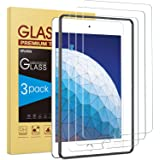 3 Pack SPARIN Tempered Glass Screen Protector Compatible with iPad Air 3 2019/iPad Pro 10.5 Inch, Compatible with Apple Penci