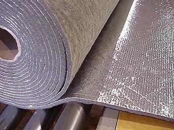 automotive heat sound and noise insulation padding thermozite