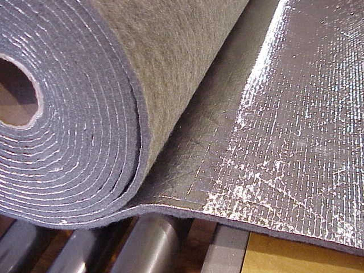 Foss Manufacturing Automotive Heat Sound and Noise Insulation Padding Thermozite