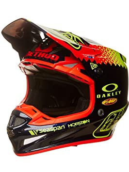 Casco Mx Troy Lee Designs 2017 Se4 Composite Team With Mips Azuloscuro (M , Azuloscuro