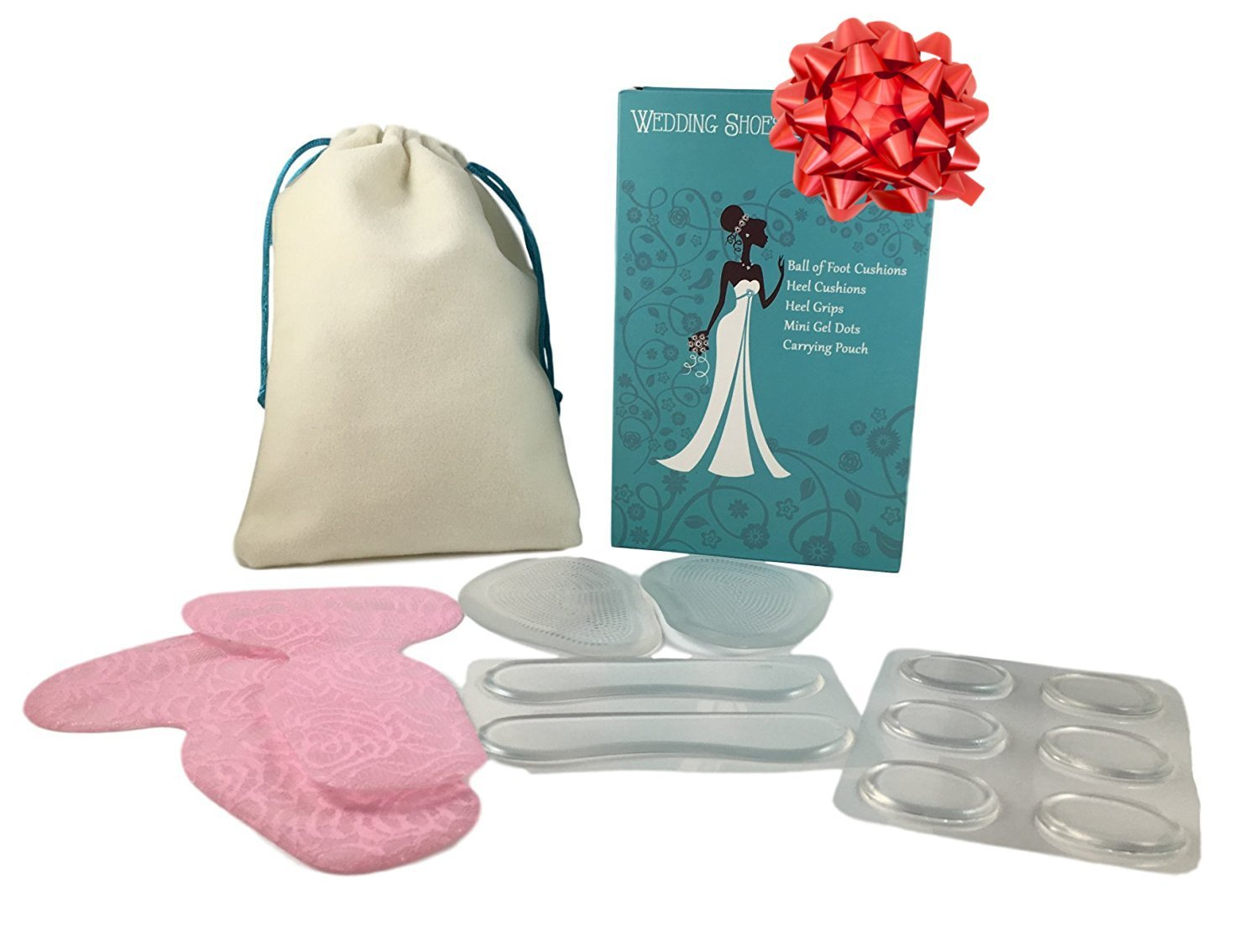 Wedding Day Survival Kit for Bridal Shoes - Perfect Gifts for the Bride, Maid of Honor, and Bridesmaids