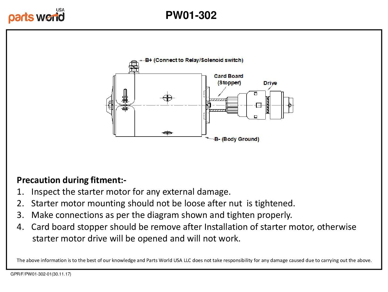 6 Volt Starter With Drive For Ford 2n 1942 1947 8n 1953 601 Wiring Diagram 1952 9n 1939 1943 Sa 546 62001 28hp 30hp 3109d 8n11001 8n11001r 8n11002 9n11001
