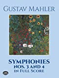 Mahler: Symphonies Nos 3 and 4 in Full Score