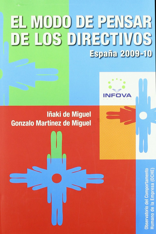 Modo De Pensar De Los Directivos, (EMPRESA): Amazon.es: DE MIGUEL, MARTINEZ: Libros
