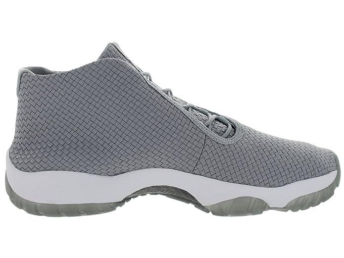 online retailer 52b46 053f9 Nike Air Jordan Future – Wolf Grey Wolf hellgrauen Trainer, Grau - grau -  Größe  41 EU  Amazon.de  Schuhe   Handtaschen