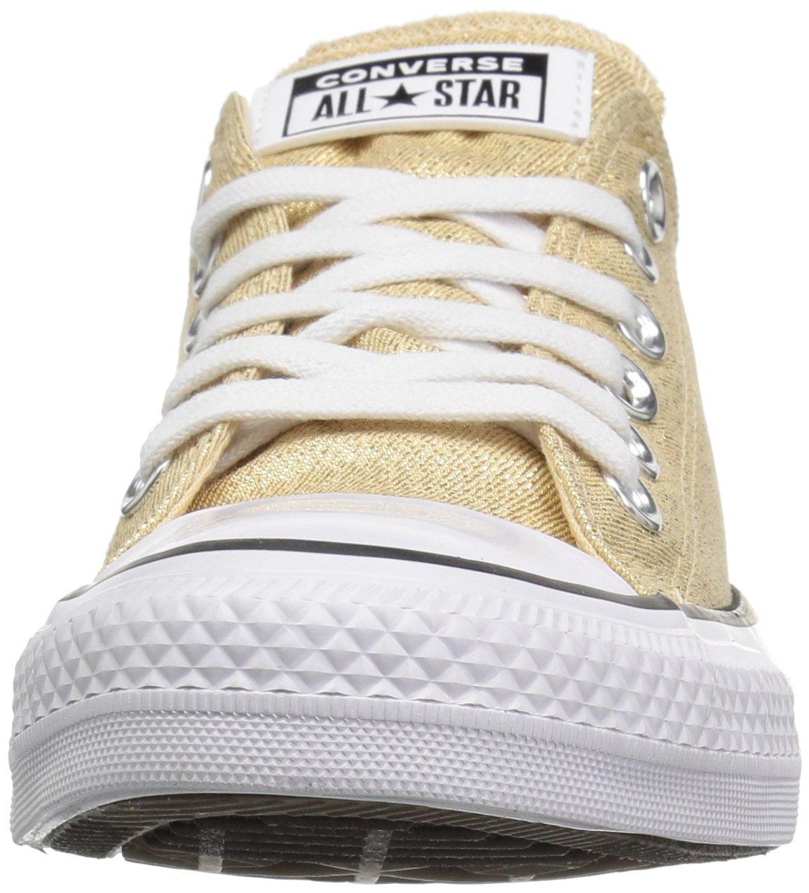 Converse Women's Chuck Taylor All Star Shiny Tile Low Top Sneaker B078NFNW85 9.5 M US|Light Twine/White/Black