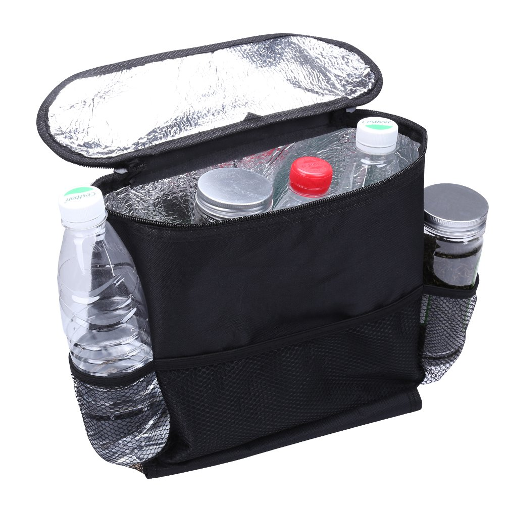 Heat-Preservation Aketek Standard Car Seat Back Organizer,Multi-Pocket Travel Storage Bag 5559021106