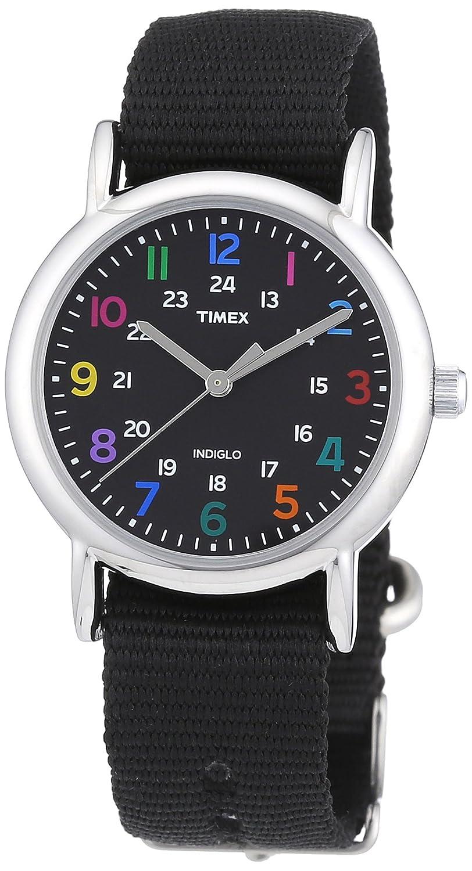 [タイメックス]TIMEX ウィークエンダー セントラルパーク ミッドサイズ ブラック×ブラック T2N869 レディース 【正規輸入品】 B008579452