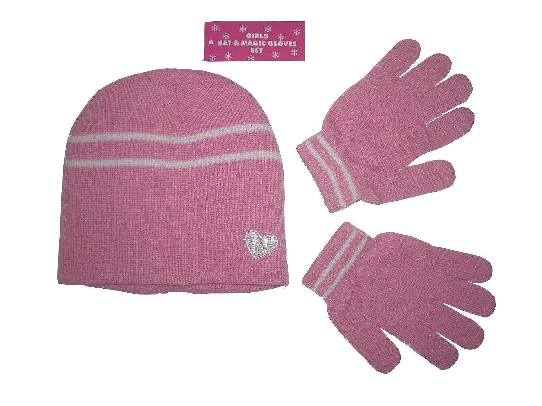 Octave - Mädchen-Set - Mütze & Handschuhe - Magic Stretch
