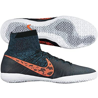 d08ffeb18c35 NIKE Men's Elastico Superfly IC Indoor Soccer Shoes (Black/Blue Lagoon/Dark  Grey/Total Crimson) (12): Amazon.co.uk: Shoes & Bags