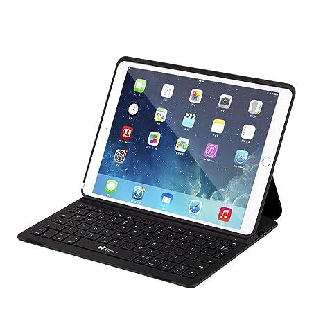 fe6bb45f116 iPad Pro 10.5 Case with Wireless Keyboard, EC Technology Ultra-Thin  Lightweight Bluetooth Keyboard