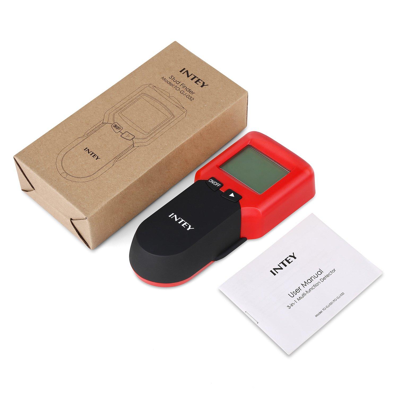 3 in 1 Ortungsgerät INTEY Leistungssucher Wand Detektor für Holz ...