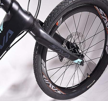 Sava – Bicicleta Plegable, 20 Pulgadas, Fibra de Carbono ...