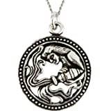 Ananth Jewels 925 Sterling Silver BIS Hallmarked Pendant Birthday Zodiac Signs