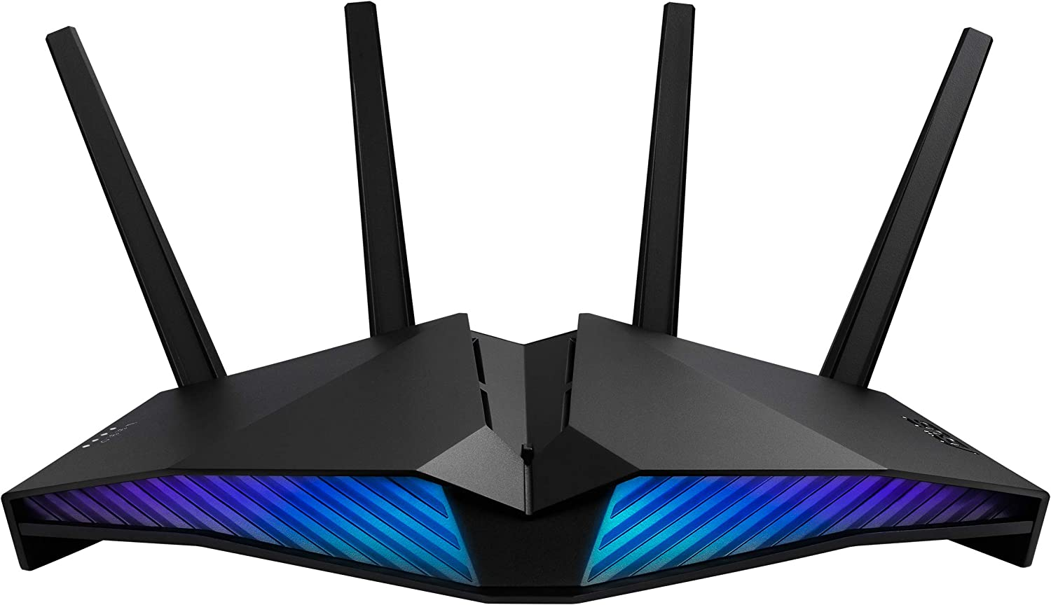 ASUS RT-AX82U AX5400 Dual-Band WiFi 6 Gaming Router, Game Acceleration, Mesh WiFi Support, Lifetime Free Internet Security, Dedicated Gaming Port, Mobile Game Boost, MU-MIMO, Aura RGB
