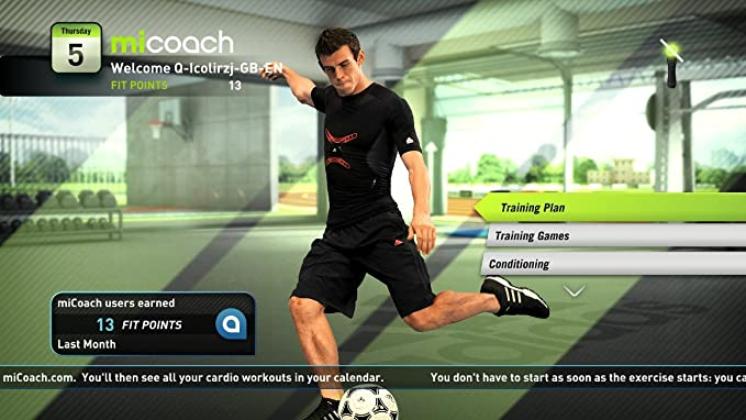 Adidas miCoach - Move Required (PS3) [Importación inglesa]: Amazon.es: Videojuegos