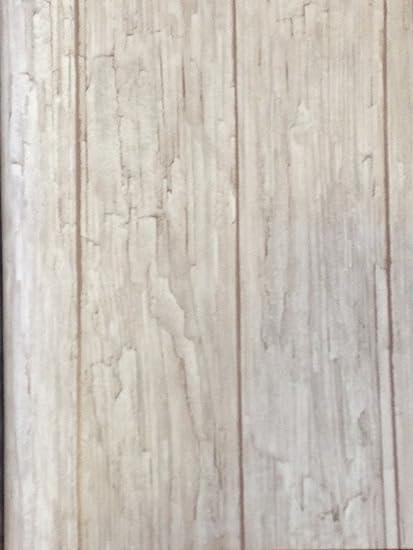 Papier Peint A Aspect Vieilli Bois Chene Blanchi 7806 10 X 53 Cm