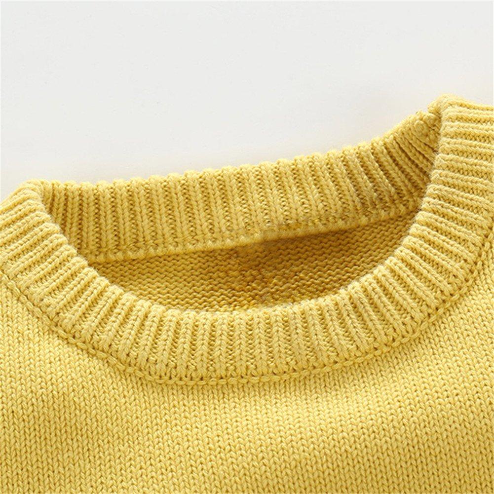 Mud Kingdom Kids Unisex Cartoon Fish Knitted Pullover Sweater