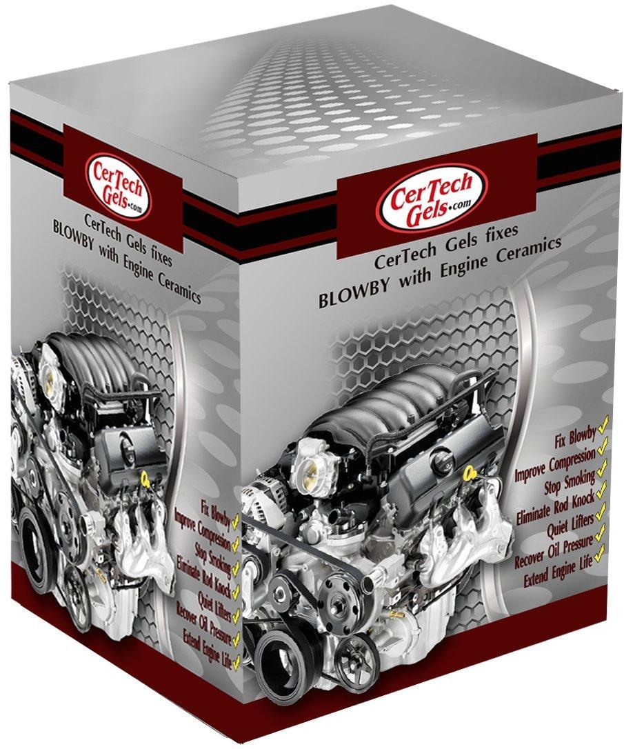 CerTech Gels 8 Cylinder Engine Repair Gels by CerTech Gels