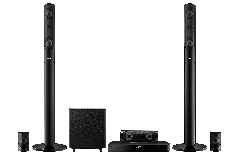 Samsung Home Entertainment HT-J4500/ZC 5.1-Channel Home Speaker, Black, Set of 6 Samsung CA AV HT-J4500/EN