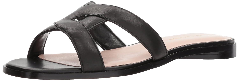 Avec Les Filles Women's Blaye Flat Sandal B07575PWWY 6 B(M) US|Black Nappa
