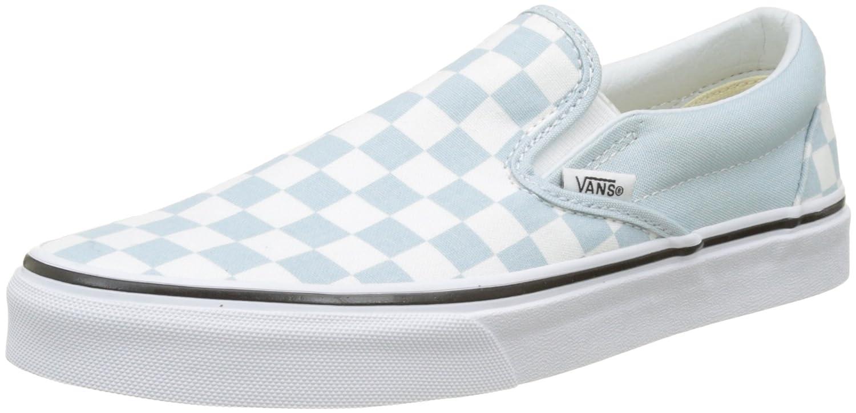 [バンズ] VANS スニーカー Classic Slip-on B074H8RV4D 9 UK|Light Blue White