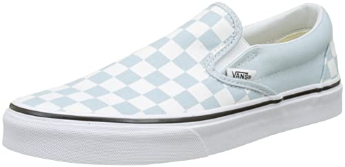 Vans Classic Slip-on, Zapatillas Sin Cordones Unisex Adulto, Beige (Checkerboard), 35 EU