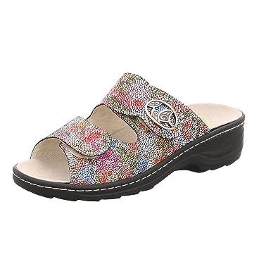 Fidelio Damen Soft-Line Pantoffel 225005, Hellgrau Bordo 88, EU (39)