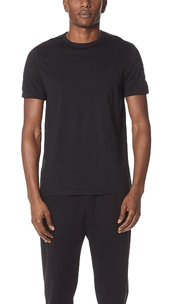 Fred Perry - Camiseta - Hombre Negro Negro (XX-Large: Amazon.es ...