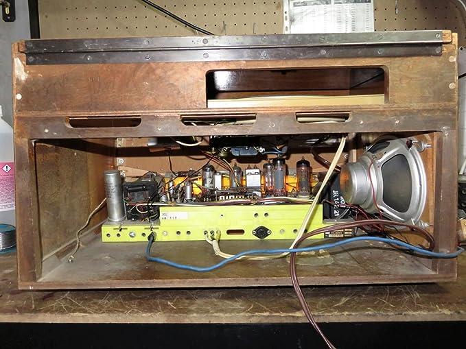 ANTIGUA RADIO VINTAGE TOCADISCOS HORNYPHON TRAVIATA WH362A /00 ...